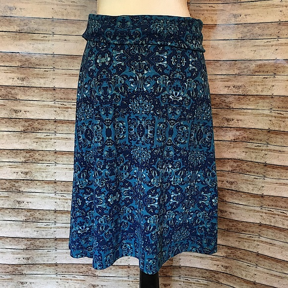 Medium LLR Azure Skirt